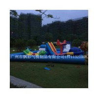 广州充气水上闯关玩具租赁价格佛山充气游泳池充气滚筒