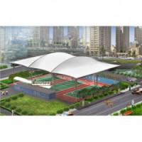 漯河体育馆膜结构雨棚