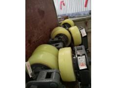 L20缓冲式滚轮罐耳、碟簧缓冲滑动罐耳总成
