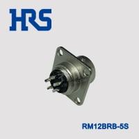 HRS广濑航空插头 RM12BRB-5S 插座