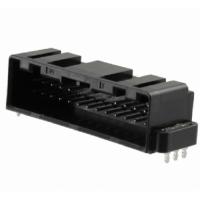 GT8E-24DP-2H黑色公形引脚接插件