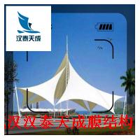 湖北膜结构价格 景区景观膜结构 宜昌公交车车棚膜结构加工