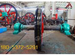 TLG2000立井固定天轮 矿用双槽悬吊天轮