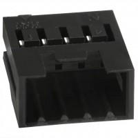 公形引脚插头DF3-4EP-2C线对线连接器
