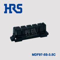 广濑MDF97-5S-3.5C插座黑色胶壳