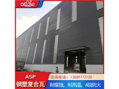 山东潍坊防腐彩钢瓦 pvc钢塑瓦 蓝色耐腐彩钢板瓦型可定制