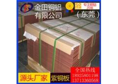 四川t5紫铜板,t4优质耐冲压紫铜板-t2超宽紫铜板