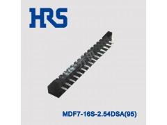 广濑底部通孔插入型连接器MDF7-16S-2.54DSA