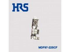 广濑镀锡MDF97-22SCF插针电动汽车端子