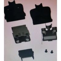 3540-16P-CV(50)广濑HRS黑色16PIN插头