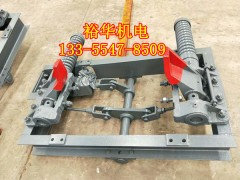 矿用600轨距气动抱轨式阻车器 QZC气动阻车器型号