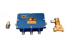 声控洒水降尘装置ZP127煤矿声控自动洒水喷雾