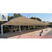 红安县景观棚公司 红安县充电桩汽车棚膜结构生产