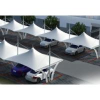 汉川市车棚膜结构订做 汉川市汽车车棚膜结构充电桩厂家