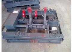 气动卧闸QWZC系列自复位卧闸900轨距22KG矿用卧闸